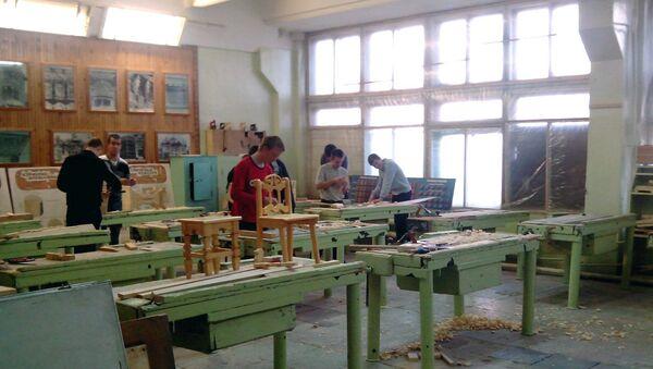 Студенты профессионального училища в Томске. Архивное фото