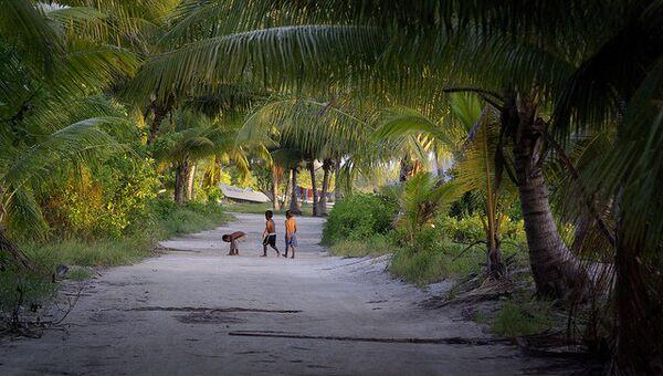Тихоокеанское государство Кирибати