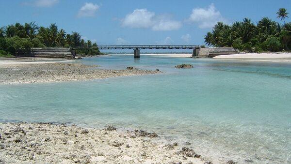 Тихоокеанское государство Кирибати. Архивное фото