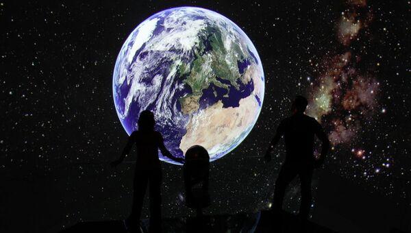 Планетарий в научно-популярном центре АХХАА