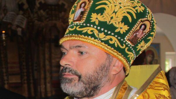 Настоятель Покровского храма Белореченска протоиерей Николай Меденцев, архивное фото