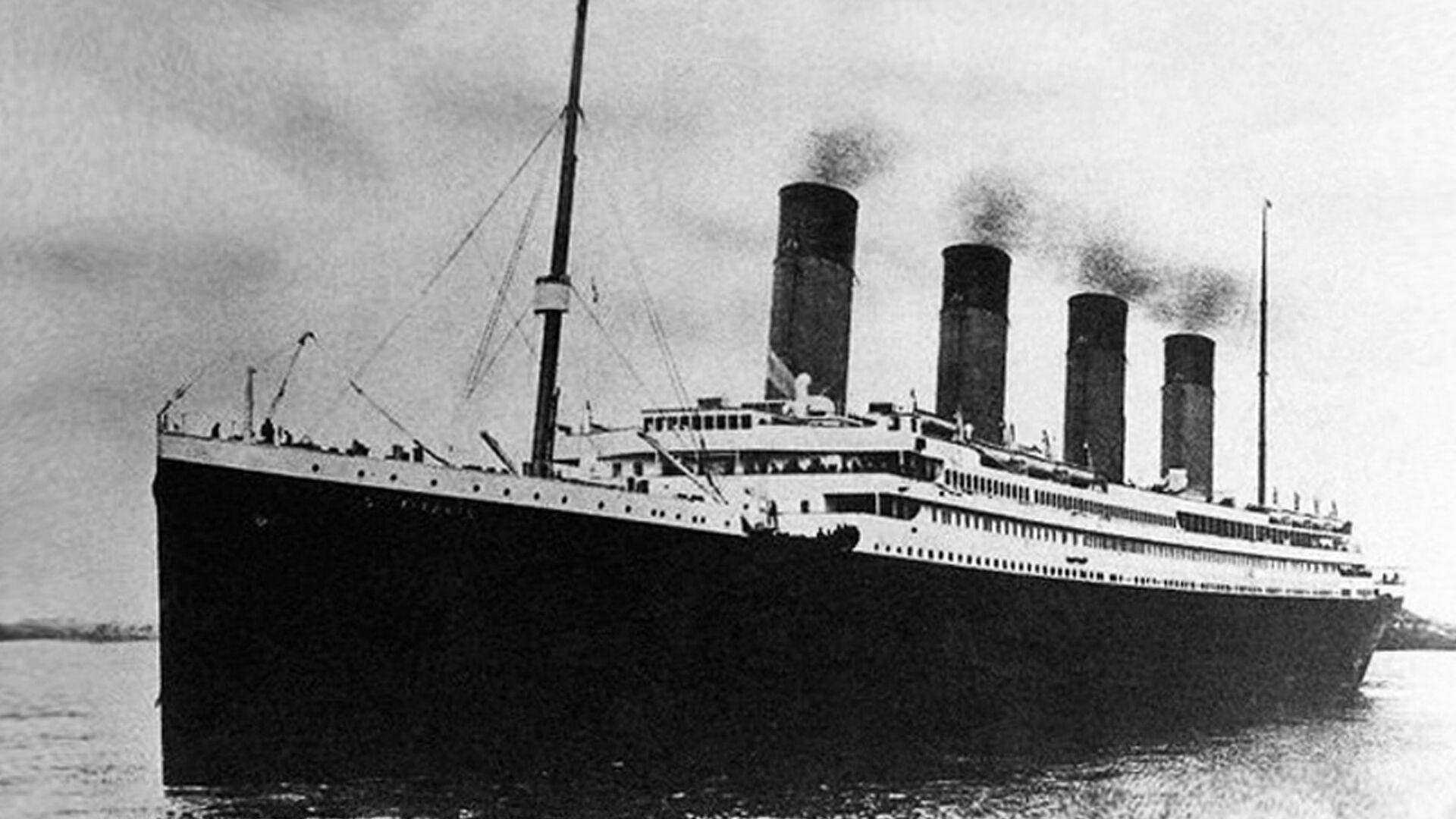 Титаник в Саутгемптоне 10 апреля 1912 года - РИА Новости, 1920, 21.11.2019