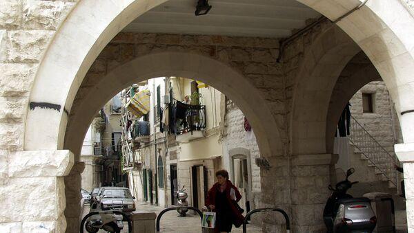 Одна из улиц итальянского города Бари. Архивное фото