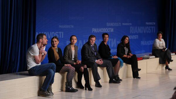 Герои фильма и участники дискуссии Открытого показа