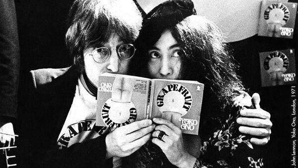 Gijsbert Hanekroot John Lennon, Yoko Ono, London