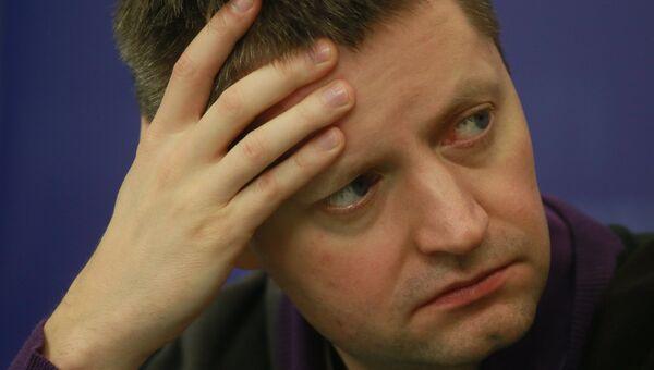 Журналист Алексей Пивоваров. Архивное фото