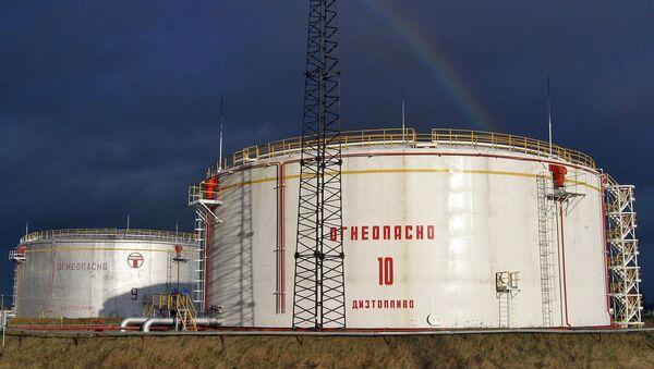 Часть российского предприятия, занимающегося транспортировкой дизельного топлива западным потребителям.  Архивное фото