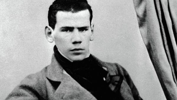 Русский писатель Лев Николаевич Толстой, 1849 год