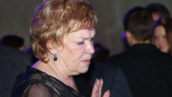 экс-ректор Академии Русского балета имени А. Я. Вагановой Вера Дорофеева. Архивное фото