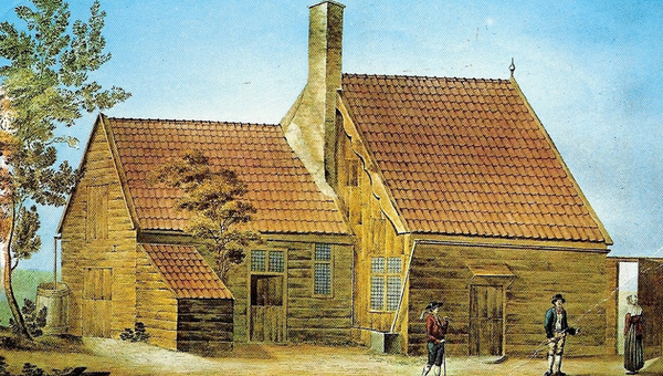 Домик Петра I из нидерландского Заандама