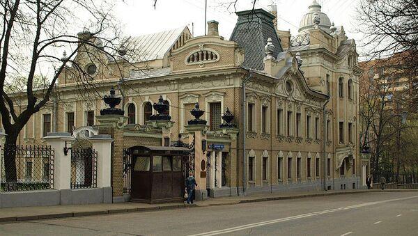 Здание посольства Индии в Москве (улица Воронцово Поле, 6-8)