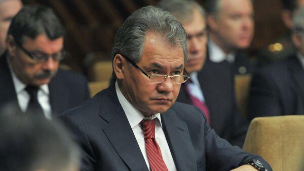 Сергей Шойгу, архивное фото