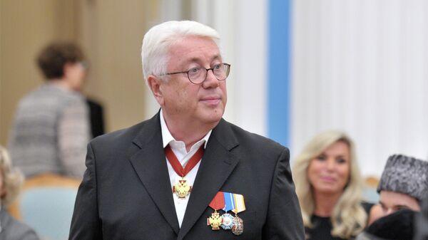 Артист Владимир Винокур во время церемонии вручения государственных наград в Кремле. Архивное фото