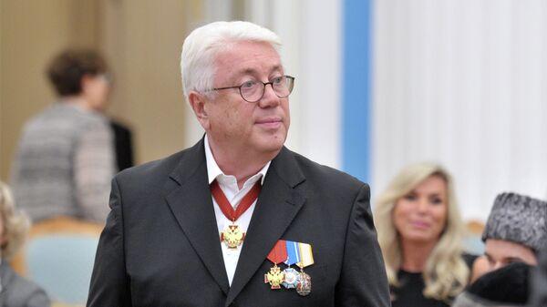Артист Владимир Винокур во время церемонии вручения государственных наград в Кремле