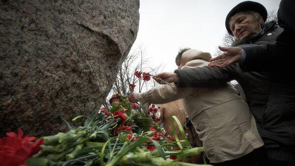 Митинг памяти жертв политических репрессий в Петербурге. Фото с места события