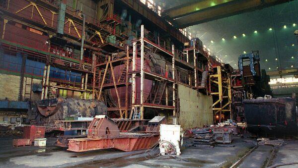 Судоремонтный завод Нерпа. Архивное фото