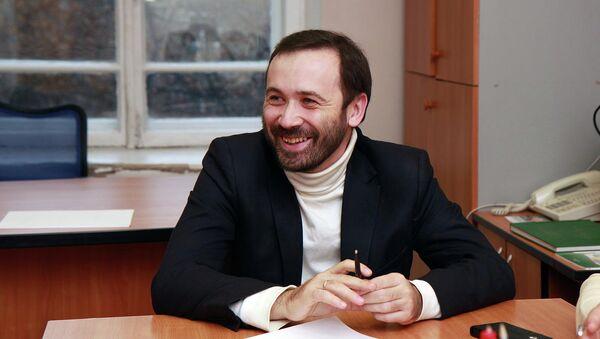 Кандидат в мэры Новосибирска Илья Пономарев, архивное фото