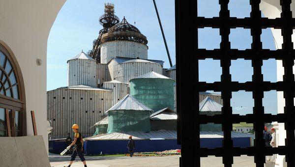 Восстановление Новоиерусалимского монастыря, архивное фото