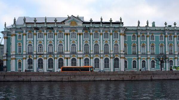 Здание Государственного Эрмитажа в Санкт-Петербурге