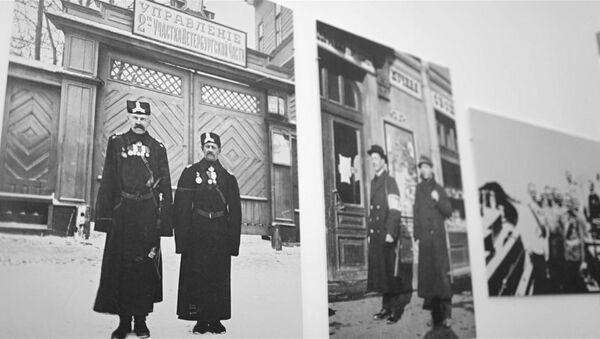 История МВД России в архивных снимках на фотовыставке в музее Пушкина