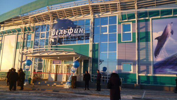 Первый 25-метровый бассейн в городе Асино Томской области, событийное фото