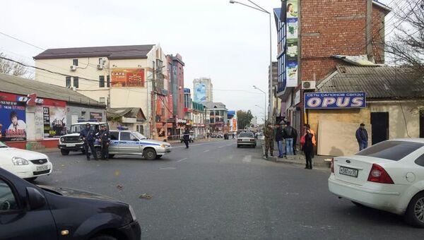 Взрыв в магазине в Махачкале. Архивное фото
