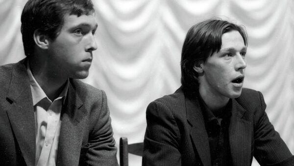 Никита Высоцкий и Михаил Ефремов