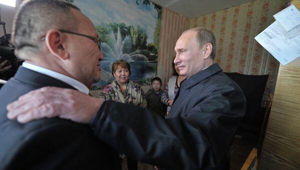 Рабочая поездка В. Путина в Южный федеральный округ. Архивное фото