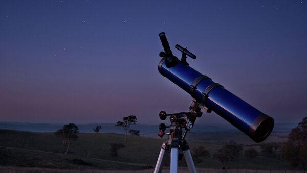 Телескоп под открытым небом. Архивное фото