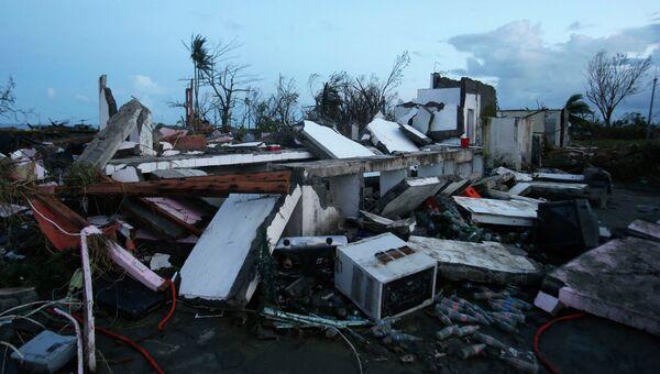 Последствия тайфуна на Филиппинах. Фото с места событий