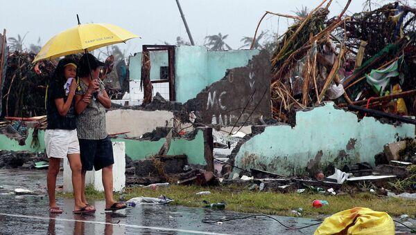 Последствия супертайфуна на Филиппинах. Фото с места события