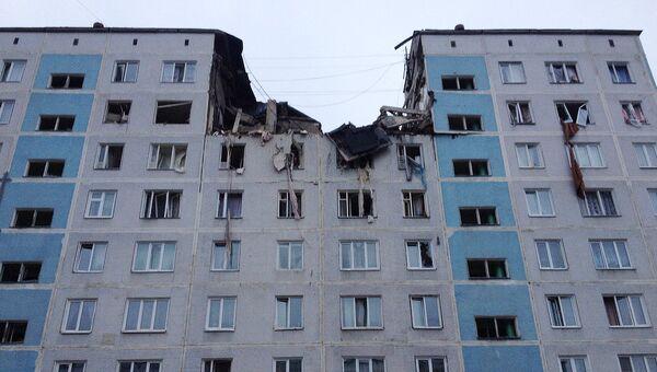 Взрыв бытового газа в Сергиево-Посадском муниципальном районе Московской области, фото с места события