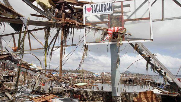 Последствия тайфуна на Филиппинах. Фото с места события