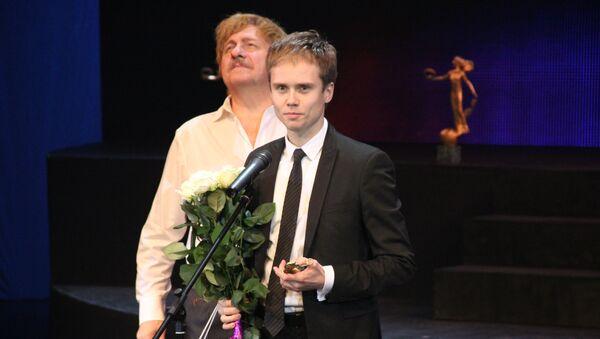 Леонид Сарафанов на церемонии вручения театральной премии Золотой софит