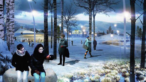 Победитель первого этапа конкурса на ландшафтно-архитектурную концепцию парка Зарядье