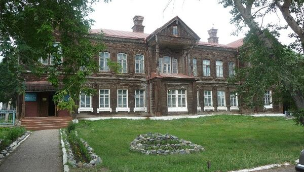 Музей оружейника Калашникова в селе Курья, архивное фото