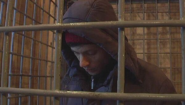 Один из осужденных в убийстве торговца машинами в Новосибирске, архивное фото