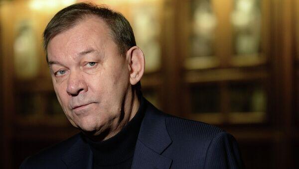 Новый генеральный директор Большого театра Владимир Урин во время представления коллективу ГАБТ. Архив