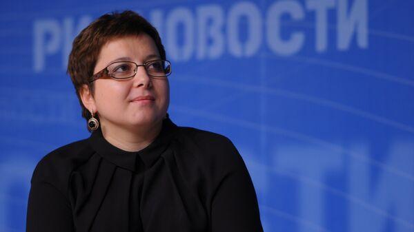 Нюта Федермессер, президент благотворительного фонда помощи хосписам Вера