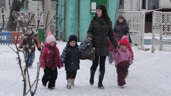 Воспитанники детсада в Приамурье эвакуированы из-за задымления