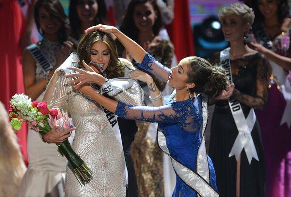 Победительница конкурса Мисс Вселенная 2013 из Венесуэлы Габриэла Ислер