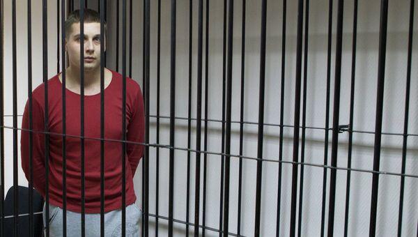 Подозреваемый в избиении томского бизнесмена Максима Хайкиса в суде