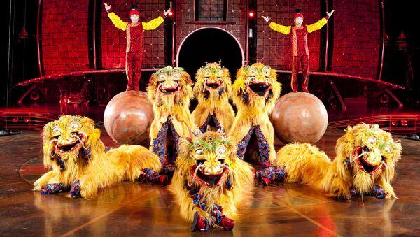 Шоу Dralion в Cirque du Soleil. Архивное фото