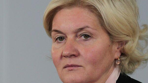 Заместитель председателя правительства Ольга Голодец. Архивное фото