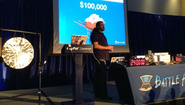 Директор сети разработчиков PayPal Джон Ланн. Фото с места событий