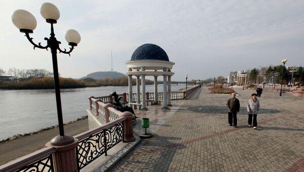 Города России. Биробиджан. Архивное фото