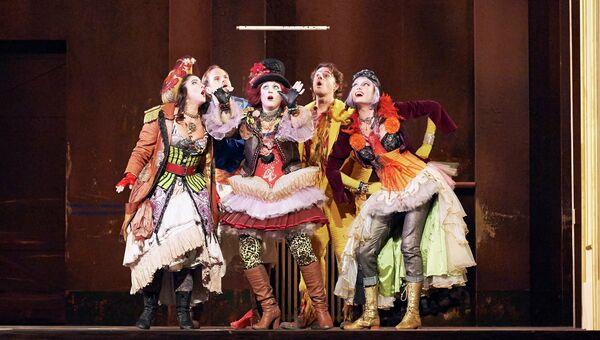 Постановка оперы Волшебная флейта в Венской опере