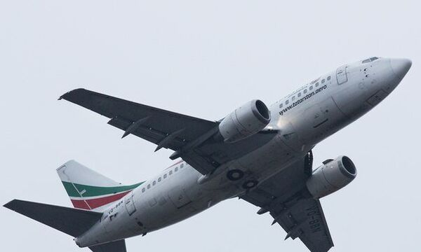 Boeing-737 авиакомпании Татарстан, разбившийся в Казани. Архивное фото