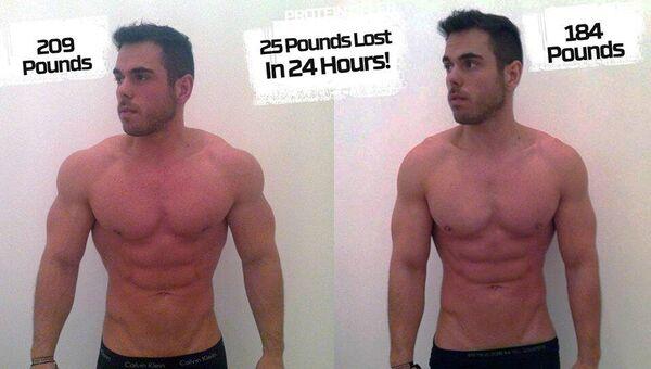 самый быстрый способ похудеть за 1 день