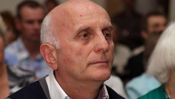 Борис Булочник.  Председатель правления Мастер-банка. Архивное фото